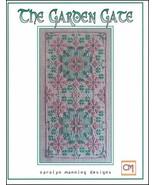 The Garden Gate cross stitch chart CM Designs  - $9.00