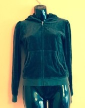Juicy Couture Forest Green Hoodie SZ Girl's Youth 14 - $44.55