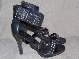 Ash MUMBAI Studded Buckle Gladiator Heels 40/10 Women Used - $49.49