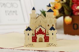 Schloss Neuschwanstein--3D Greeting Card, Pop Up Card, Pop Out Card - $6.88
