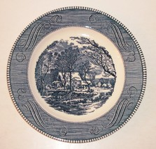 "Vintage 10"" Plate CURRIER and IVES ""The Old Grist Mill"" by Royal USA Mint - $14.36"