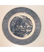 """Vintage 10"""" Plate CURRIER and IVES """"The Old Grist Mill"""" by Royal USA Mint - $14.36"""