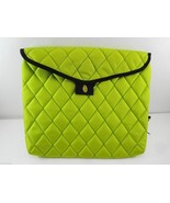 Timbuk2 Neon Green Envelope Laptop Tablet Sleeve L Cushioned - $30.69