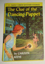Primary image for Nancy Drew 39 The Clue of the Dancing Puppet PC crisp, clean matte 1978 printing