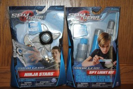 Spy Gear Ninja Gear Spy Light Kit and  Ninja Stars NEW - $21.99