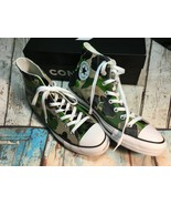 Converse CTAS hi top black candied ginger Camo camouflage sneakers shoes... - $49.95
