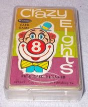 Vintage Whitman 1951 Crazy Eights Childs Card Game - $10.00