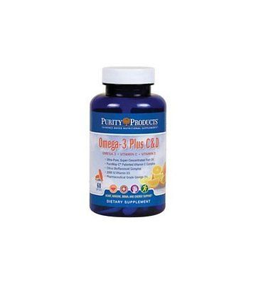 Omega-3 Plus Vitamin C and D by Purity Products