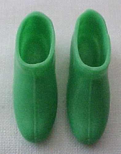 Primary image for Vintage Barbie MOD Francie Green Ankle Boots