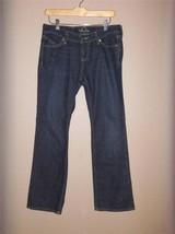 W7429 Womens OLD NAVY Dark Wash Stretch Denim The Diva BOOT CUT JEANS 2 ... - $12.60