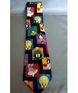 Lonney Tunes Tie Tweetie, Martian, Bugs, Silvester Characters Neck Tie - $14.99