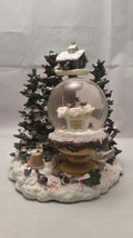 PFALTZGRAFF WINTERWOOD 1999 MUSICAL SNOW GLOBE - $36.47