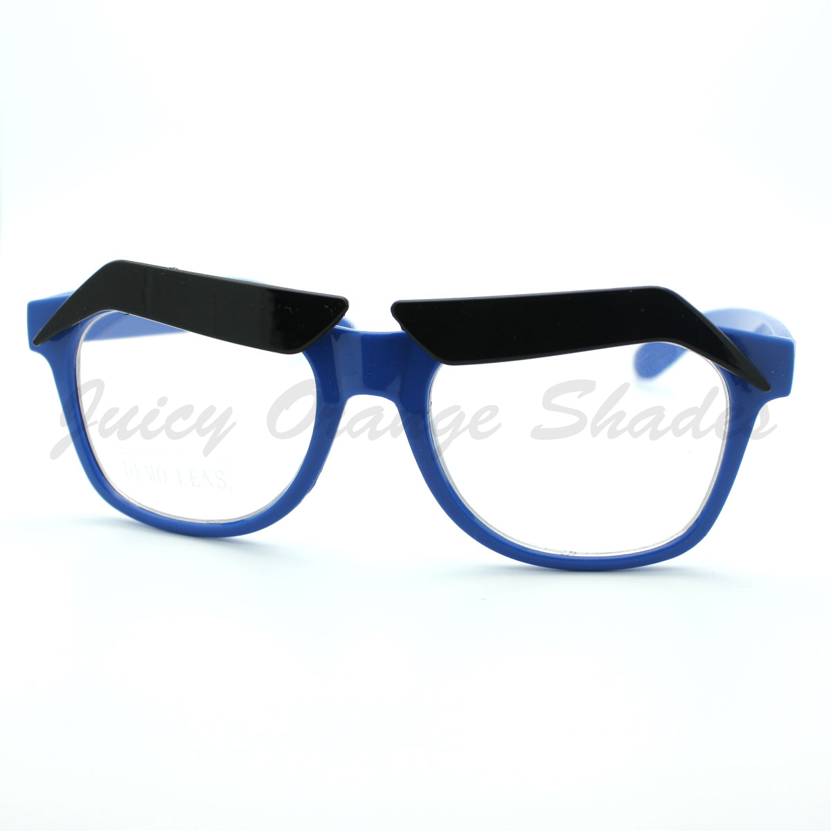 Glasses Frames Eyebrows : Funny Eyebrows Eyeglasses Clear Lens Novelty Cartoon Frame ...