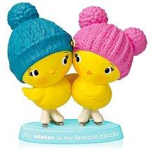 1 X Sister Chicks - 2014 Hallmark Keepsake Ornament - $9.87