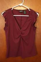 Mixit Plum Top - Size Small - $8.99