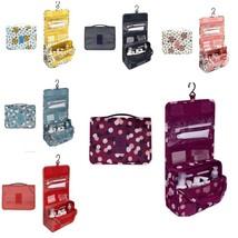 Bag Cosmetic Hanging Travel Women High Capacity Makeup Case Storage Orga... - $225,32 MXN