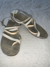 Merrell Performance Footwear Silver Lining Lilium Beige Yellow 8 Buckle ... - $39.57