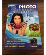 PHOTO EXPLOSION Deluxe Version 5 Windows 7 8 10 digital photo editing so... - $18.69