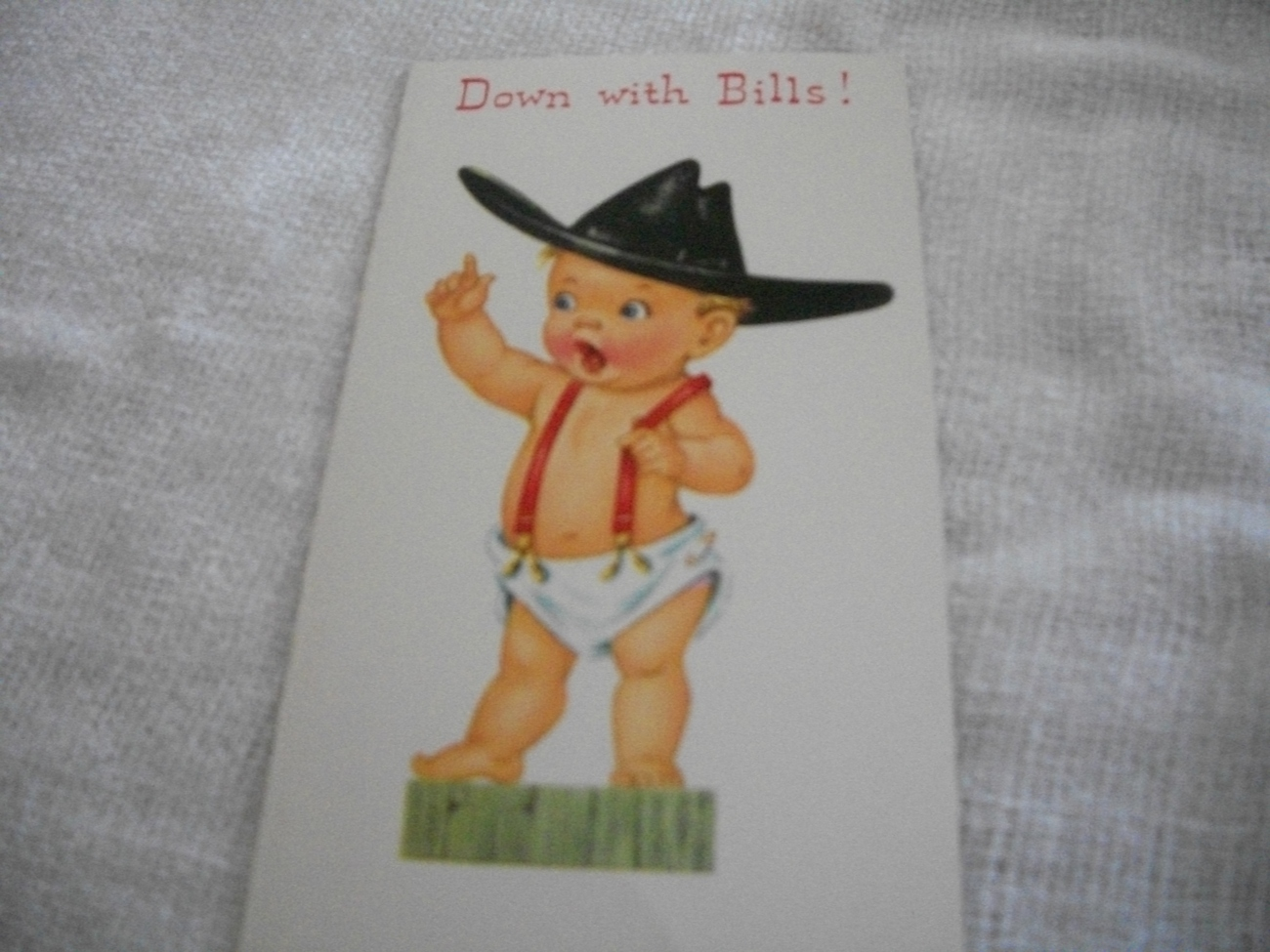 Primary image for Vintage Get Well Card