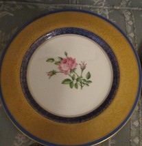 COLLECTIBLE PICKARD STUDIO CHINA  GOLD HAND PAINTED DECORATED ROSES - $49.52