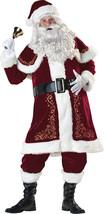 Traditional Older Santa Suit Men Costumes Santa Jolly Ol' St Nick Adult Costume  - $225.25