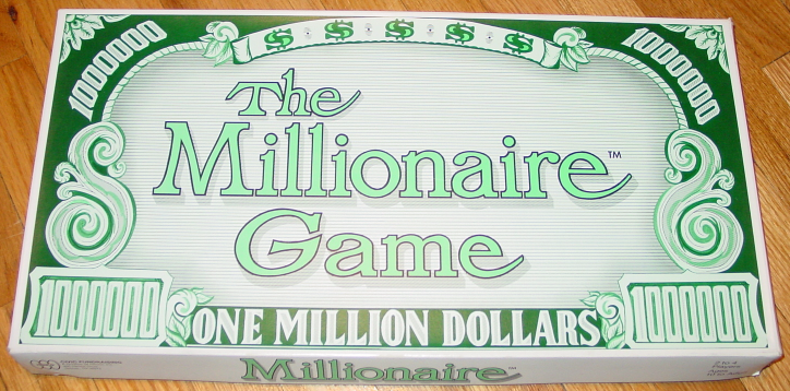 Primary image for MILLIONAIRE GAME ONE MILLION DOLLARS MT CARMEL AREA PA HENCO COMPLETE EXCELLENT
