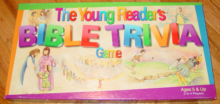Primary image for YOUNG READERS BIBLE TRIVIA GAME 2001 STANDARD PUBLISHING COMPLETE EXCELLENT