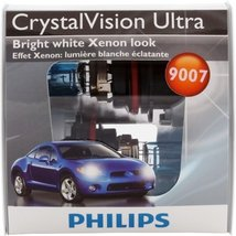 Philips 9007 CrystalVision Ultra Replacement Bulb, (Pack of 2) [Automotive] - $22.79