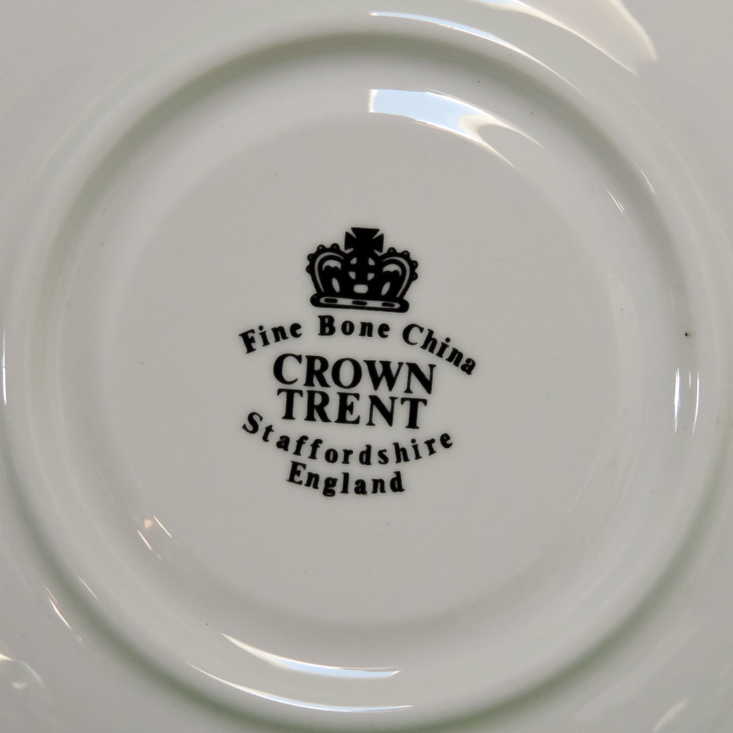 Vintage Crown Trent (England) Fine Bone China Cup And Saucer Set
