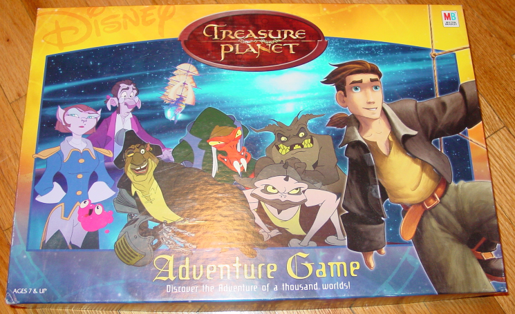 Primary image for TREASURE PLANET ADVENTURE GAME 2002 MILTON BRADLEY HASBRO COMPLETE EXCELLENT