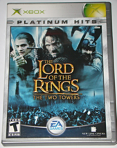 XBOX - THE LORD OF THE RINGS - THE TWO TOWERS (Complete with Instructions) - $8.00