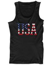 Men's Graphic Tanks Shirts - American Flag USA - $14.99+