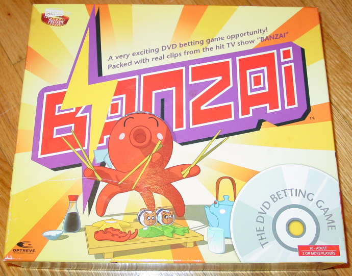 Primary image for BANZAI DVD BETTING GAME HIT TV SHOW 2006 SCREEN LIFE NIB UNUSED COMPLETE EXCELLE