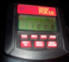 Bicycle Draw Poker Handheld Electronic Game - $12.00