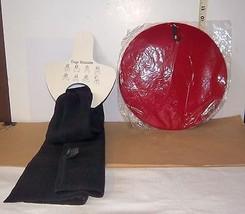 Magic Scarf Ladies Versatile Black Polyester Multi-Stylish & Red Target  hat/cap - $10.98