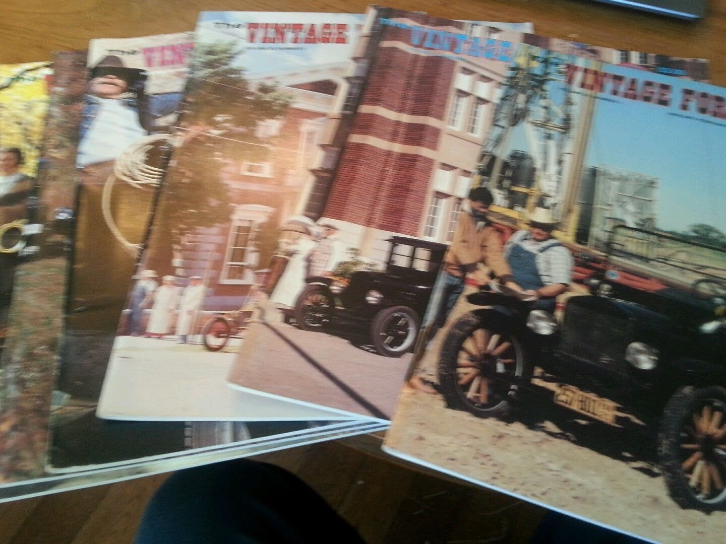 "Primary image for Lot of 6 The Vintage Ford Magazines 1991 Model ""T"" Club COMPLETE YEAR*"