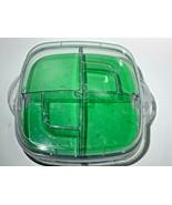 Pampered Chef Large Square Cool & Serve Deviled Egg & Veggie Tray #2292 ... - $28.04