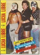 Lucha Libre Magazine #1274 From Mexico Rayo De Jalisco Solitario Huracan... - $24.95