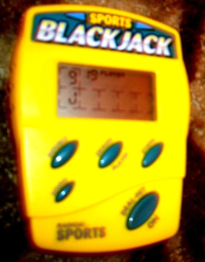 Primary image for SPORTS BLACK JACK ELECTRONIC HANDHELD GAME