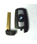 BMW 3 5 Series Uncut Blade Remote Smart Key Keyless Entry Prox KR55WK49127 - $94.99