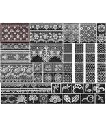 Antique Edwardian Irish Crochet Lace Patterns SC 1910! - $14.99