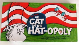 Cat in the Hat-Opoly Children's Board Game Dr Suess 2003 Complete - $63.89