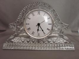 Quartz Mantle Clock Royal Limited 24% Full Lead Handcut Crystal Czech Re... - $19.00