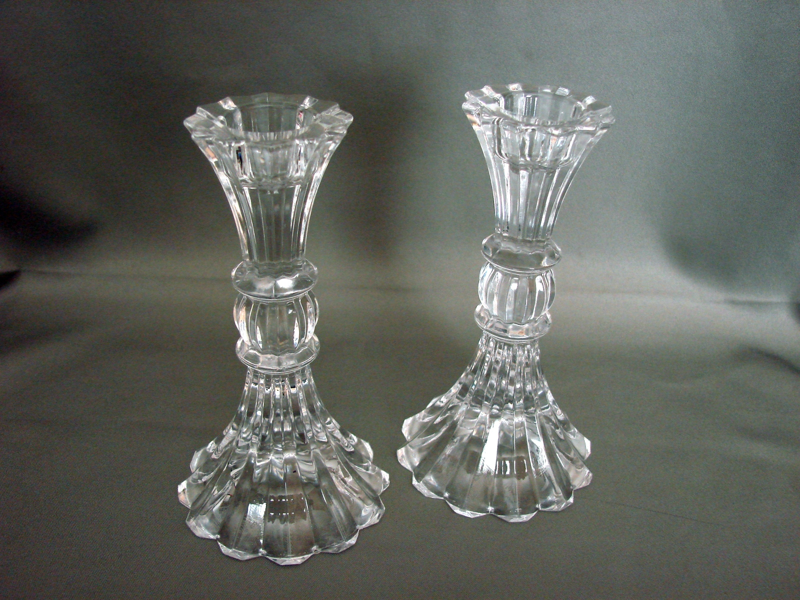 Mikasa Sterling Pattern Candle Holders Set of 2 Retired 1998 - $19.90
