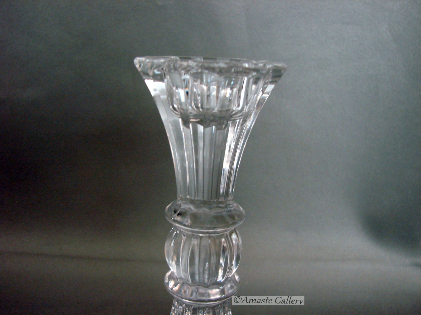 Mikasa Sterling Pattern Candle Holders Set of 2 Retired 1998