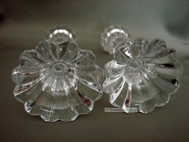 Mikasa Sterling Pattern Candle Holders Set of 2 Retired 1998 image 5