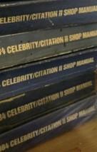 1984 CHEVY CHEVROLET CELEBRITY CITATION II Service Repair Shop Manual FA... - $9.88