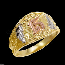 Gold Quinceanera 15-Anos Ring Band (Made in USA) - $128.69+