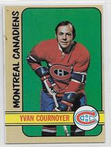 Yvan Cournoyer 1972 1973 Topps Card #10 Montreal Canadiens - $2.99