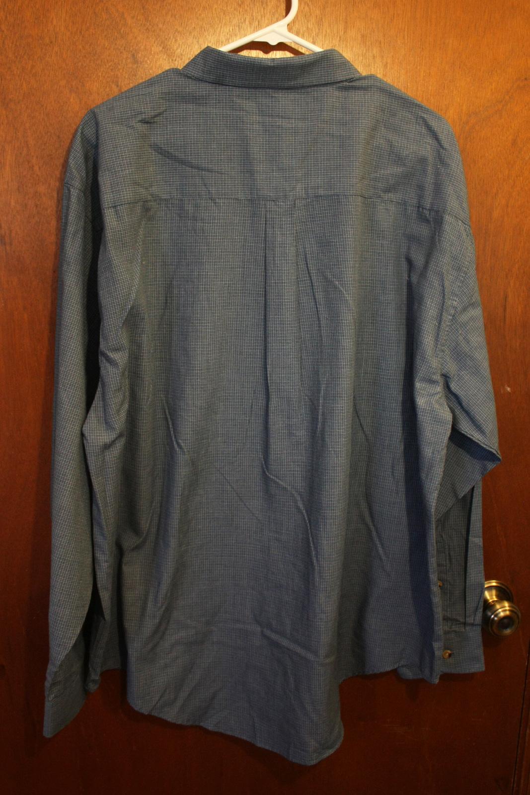 Puritan Mens Blue Plaid Dress Shirt Size And 32 Similar Items